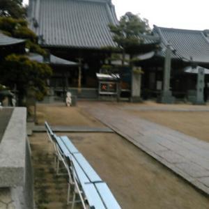 予定変更。愛媛県の札所へ。