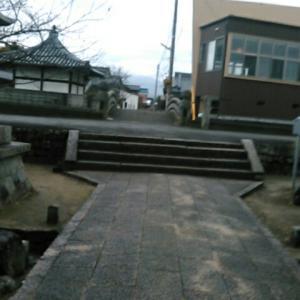平成三十一年二月、四国霊場第四十八番札所・西林寺参詣