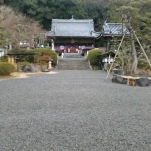 平成三十一年二月、四国霊場第五十番札所・繁多寺参詣
