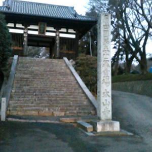 早朝、太山寺へ歩いてゆく