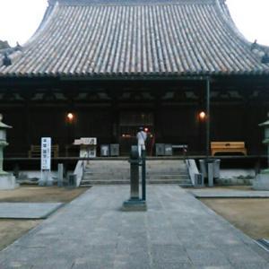 平成三十一年二月、四国霊場第五十二番札所・太山寺参詣