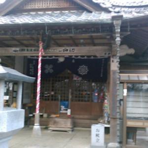早朝に、四国別格二十霊場の神野寺へ向かう。