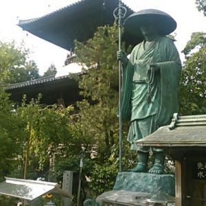 令和元年六月、四国霊場第十九番札所・立江寺参詣