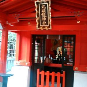 箱根神社境内にある九頭竜神社新宮