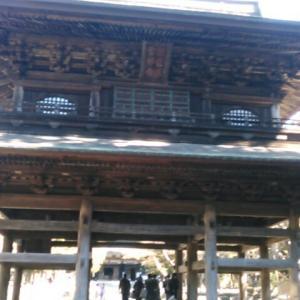 円覚寺の三門をみる