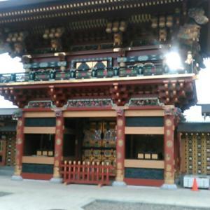 大杉神社に立ち寄る