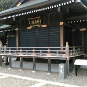 大杉神社の境内を歩く