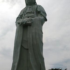 高崎の大観音像の体内へ