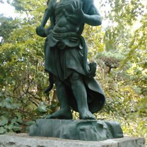 高蔵寺(町田市)の金剛力士像