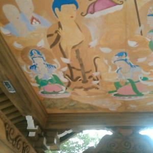 八坂寺で「極楽図」をみる