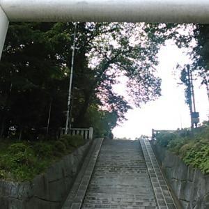 あきる野市の二宮神社とその周辺を歩く
