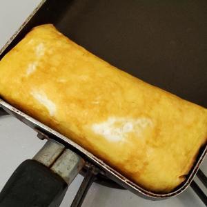 次女☆卵焼き作り