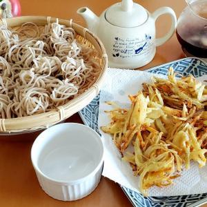 ざる蕎麦&天ぷらセット