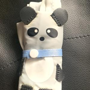 パンダのエコバッグ