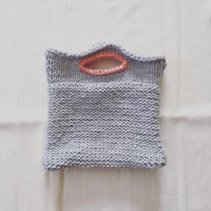 eccomin さんのニットのバッグ編みあがりました 〜こあらさんの手編み工房〜