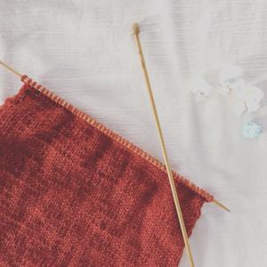 なんとなく編み編み