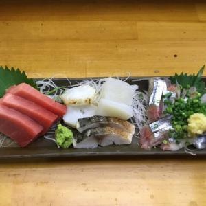 今年初、秋刀魚の刺身