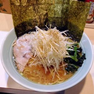 ねぎラーメン(850円)細麺+その他普通@ラーメン 府中家 中河原店(府中市)