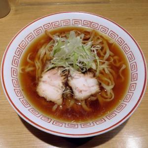 無化調醤油らーめん(680円)@きたかた食堂(港区)