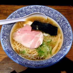 煮干し中華そば(醤油 780円)@麺や 渡海(八王子市)