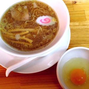 中華麺 小(650円)+生たまご(50円)@相模 大勝軒(相模原市)