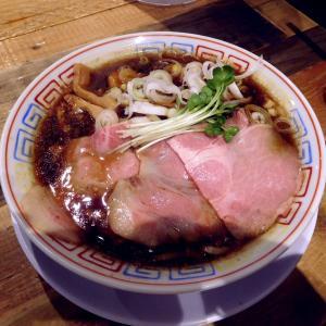 サバ醤油そば(750円)@サバ6製麺所 成城学園前店(世田谷区)