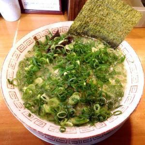 青ねぎ長浜らーめん(850円)麺の固さ:ふつう@博多長浜らーめん 六角堂 橋本店(相模原市)