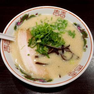 博多豚骨ラーメン(700円)麺の硬さふつう@麺屋 しょうちゃん(府中市)