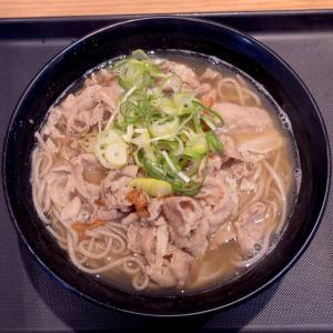 肉骨茶(バクテー)そば(590円)@名代 富士そば 代々木店(渋谷区)