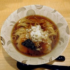 らーめん 並(600円)@中華そば つけ麺 音七(八王子市)