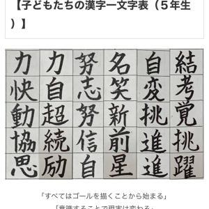 今年の漢字1文字は?