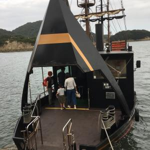 仙酔島へ渡る  鞆の浦
