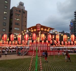 【中央区】美味しい盆踊り、築地