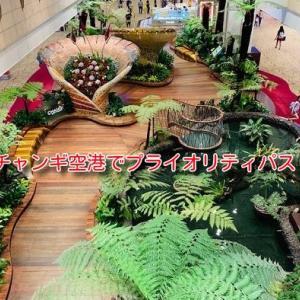 チャンギ空港で無料飯!プライオリティパスでTGMレストランを利用してみた。