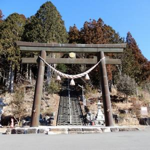 大山白山神社 山頂展望台も素晴らしい