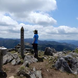久し振りの山歩き!360度の眺望、高室山