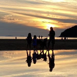 瀬戸内海の天空の鏡「父母(ちちぶ)が浜」(香川県三豊市)