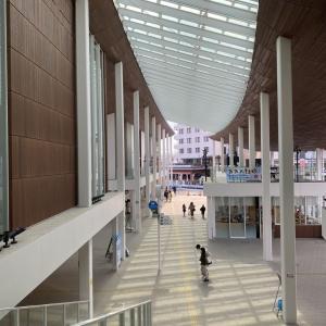 宮島観光の新しい顔「宮島口旅客ターミナル」(広島県廿日市市)