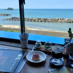 潮騒の聴こえる古民家のお洒落なカフェ&ギャラリー「Gallery & Cafe FUN」(島根県浜田市折居)」