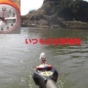 独り静かに 布目湖ワカサギ釣り 2020.3.12