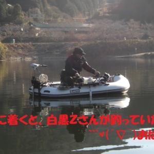 自作穂先は狙い通りの動き 布目ダムワカサギ釣り 2021.1.21