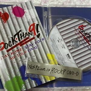 あの日の銀テは…(^_^)/~『YES!Love is ROCK!ONO-D』でした~