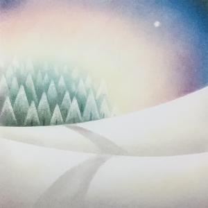 12月のパステルシャインアート講習のモチーフ