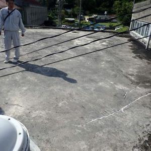 雨漏り調査・・・屋上防水は、施工後もメンテンナスが必要です。