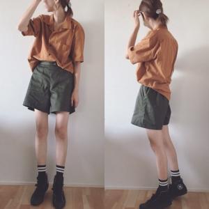 秋色コーデ^_^毎年きてる着まわし服たち♡