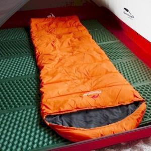 ネイチャーハイクのエンベロープダウン寝袋をレビュー