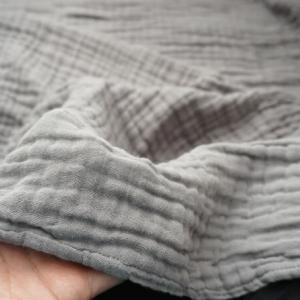 EMME 6重ガーゼケットは「伸縮性のあるモコモコ」が特徴 | 通気性が良く 肌触りも柔らか