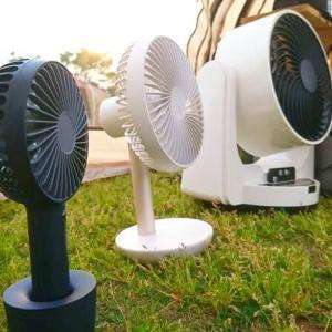 キャンプ用 扇風機のおすすめ品 | 風力・音を実検証してランキング