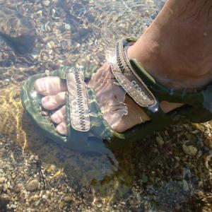 クロックスのスウィフトウォーターリバーサンダルは水遊び&普段使いに便利