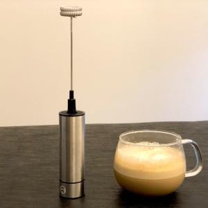 【日記】家で飲むコーヒーだからこそ、ミルクフォーマーでふわふわっと贅沢に